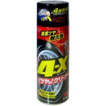 SOFT99 4-X TIRE CLEANER, Gumitisztító spray 470ml