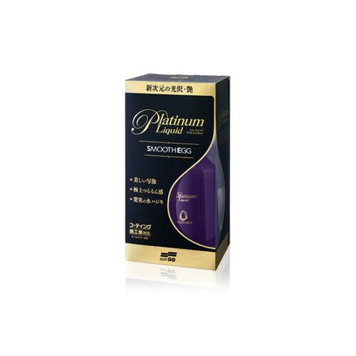 SOFT99 SMOOTH EGG PLATINUM LIQUID gyors wax - 230 ml