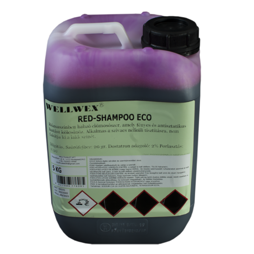 Wellwex Red Shampoo Eco autósampon koncentrátum