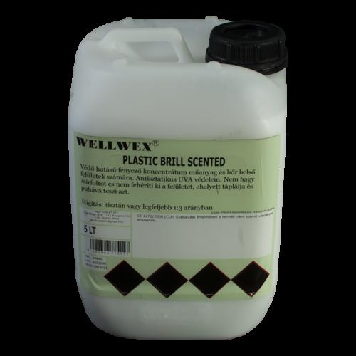Wellwex Plastic Brill Scented selyemfényű műanyagápoló
