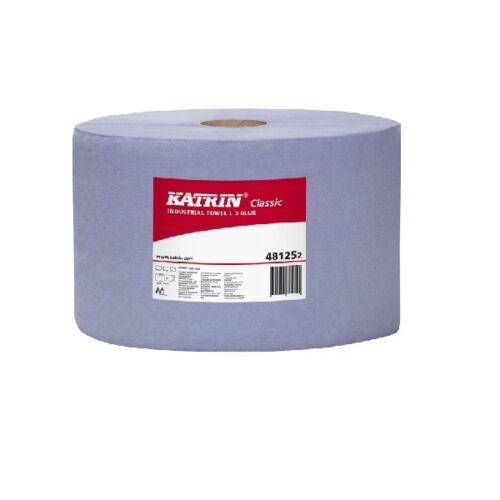 Katrin L3 Blue 500 lapos 3 rétegű ipari törlőpapír