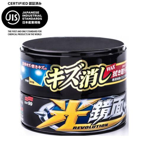 SOFT99 NEW SCRATCH CLEAR DARK karcfeltöltő wax - 200 g